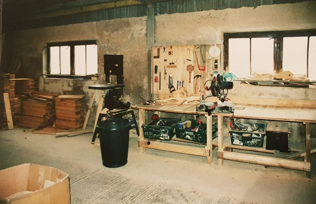 How it all began original workshop