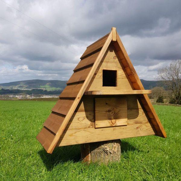 Barn owl nesting box