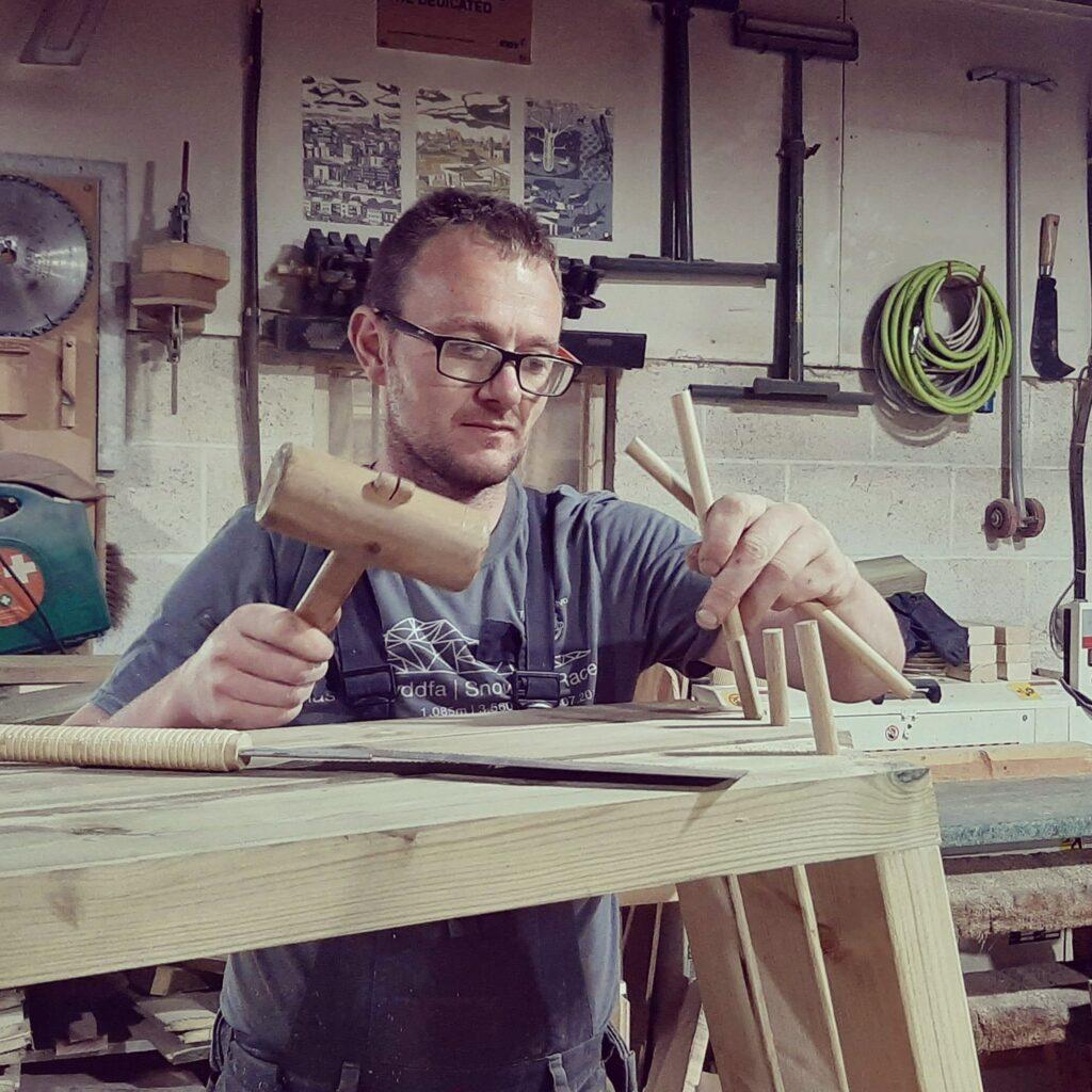 ben brindley of brindley timberworks