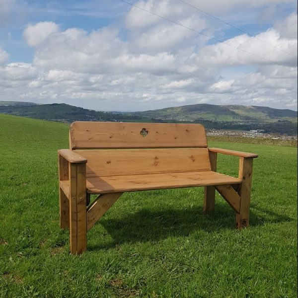 Derbyshire Garden Bench