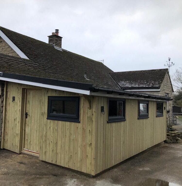 Timber clad utility build in Hope