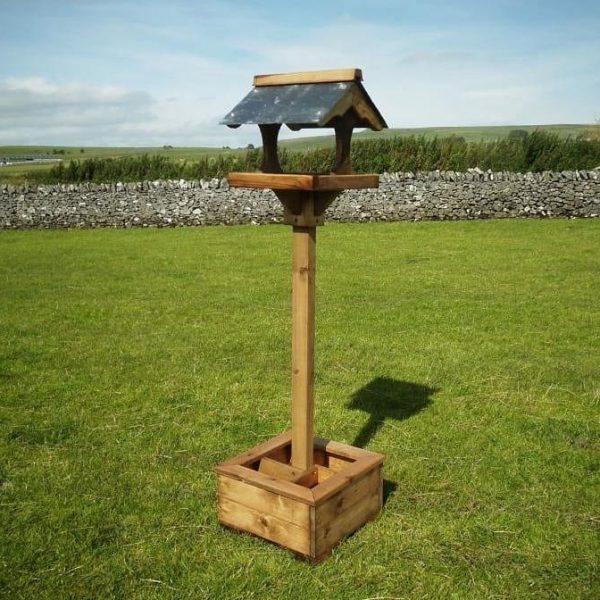 Planter bird table