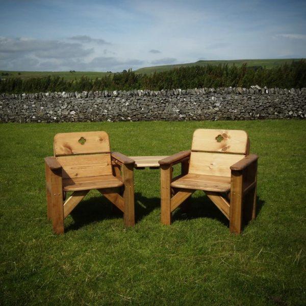 Derbyshire Garden Seat Set