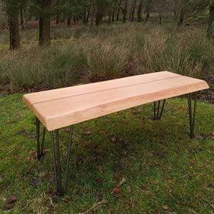 pinstripe bench